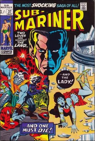 Sub-Mariner (1968) 37-B by Marvel