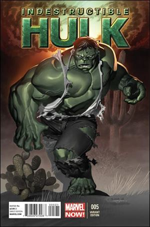 Indestructible Hulk 5-B
