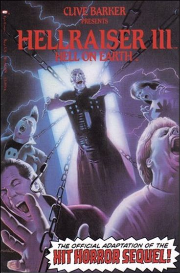Hellraiser III: Hell On Earth 1-A by Epic