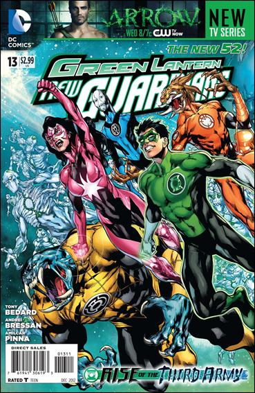 Green Lantern: New Guardians  13-A by DC