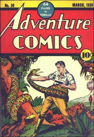 Adventure Comics (1938) 36-A by DC