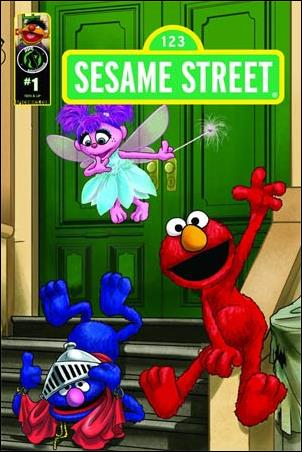Sesame Street 1-E by Kizoic