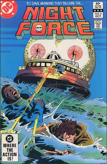 Night Force (1982) 3-A by DC