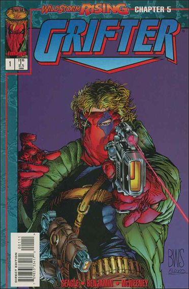 Grifter (1995) 1-B by Image