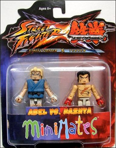 Street Fighter X Tekken Minimates Abel vs Kazuya by Diamond Select