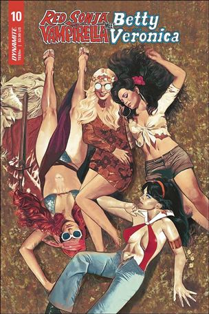 Red Sonja and Vampirella Meet Betty and Veronica 10-A