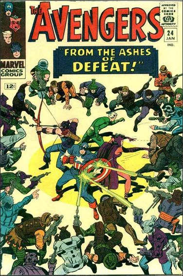 Avengers (1963) 24-A by Marvel
