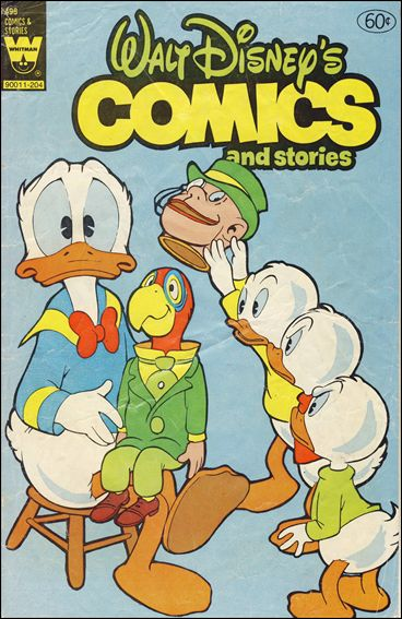 Walt Disney's Comics and Stories (1940) 498-A by Dell