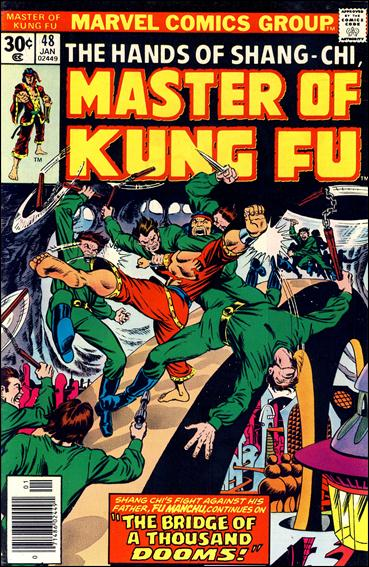 Master of Kung Fu 48-A by Marvel