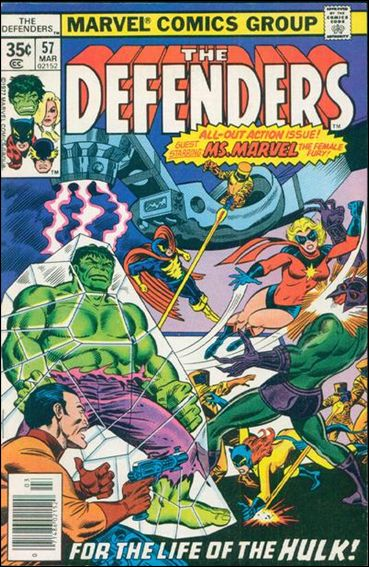 Defenders (1972) 57-A by Marvel