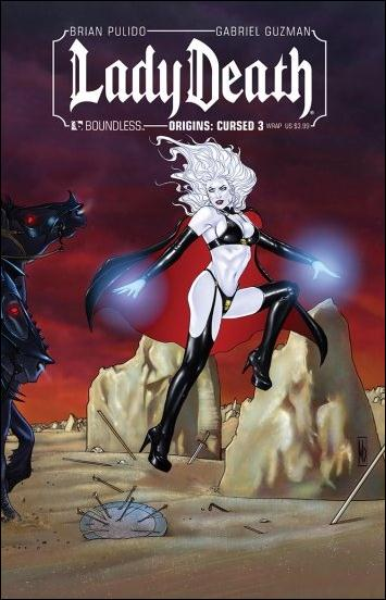 Lady Death Origins: Cursed 3-B by Boundless Comics