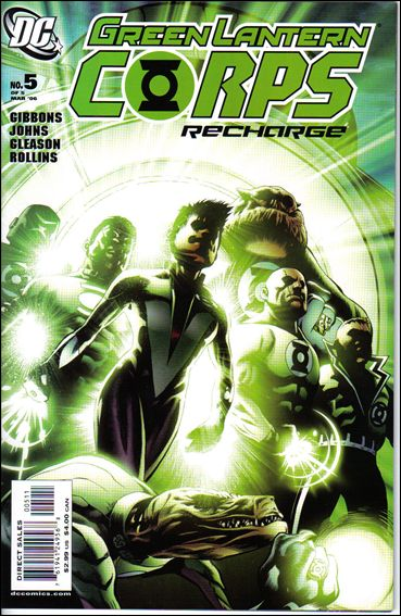 Green Lantern Corps: Recharge 5-A by DC