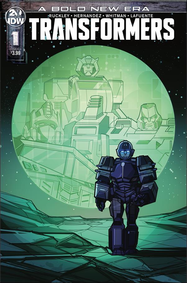 Transformers (2019) 1-B by IDW