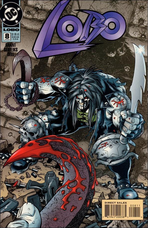 Lobo (1993) 8-A by DC