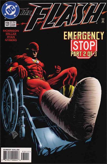 Flash (1987) 131-A by DC