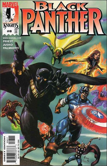 Black Panther (1998) 8-A by Marvel