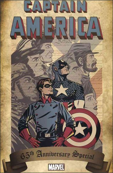 Captain America 65th Anniversary Special 1-A by Marvel