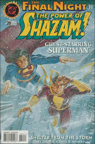 Power of Shazam! 20-A by DC