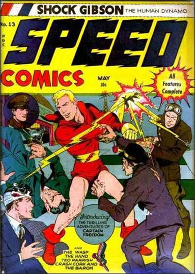 Speed Comics 13-A by Harvey