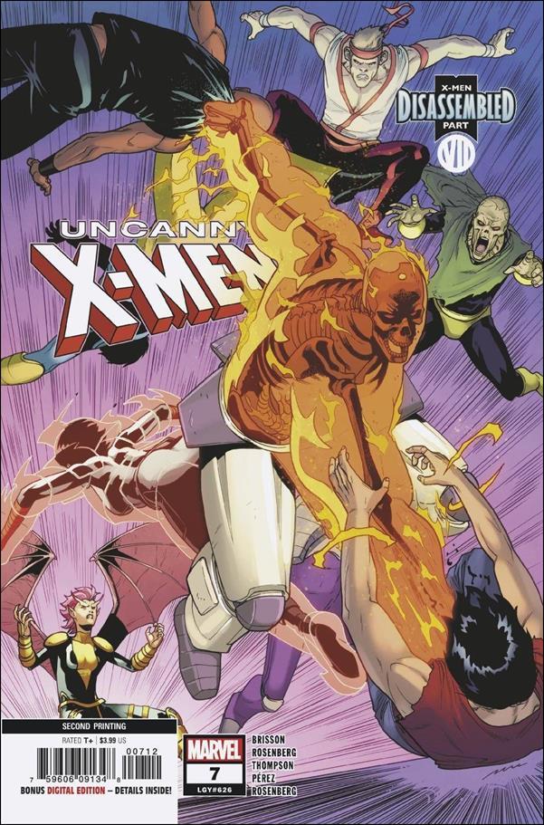 Uncanny X-Men (2019) 7-D by Marvel