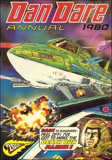 Dan Dare Annual 1980-A by Fleetway
