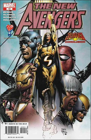 New Avengers (2005) 10-A by Marvel