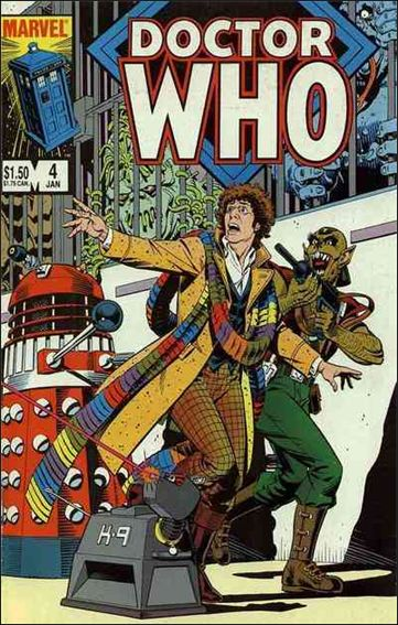 Doctor Who (1984) 4-A by Marvel