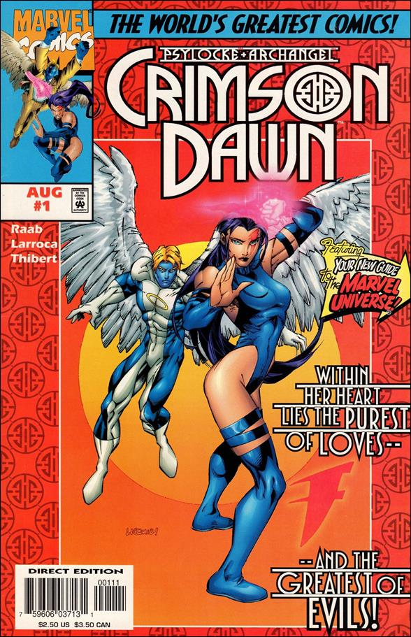 Psylocke & Archangel: Crimson Dawn 1-A by Marvel