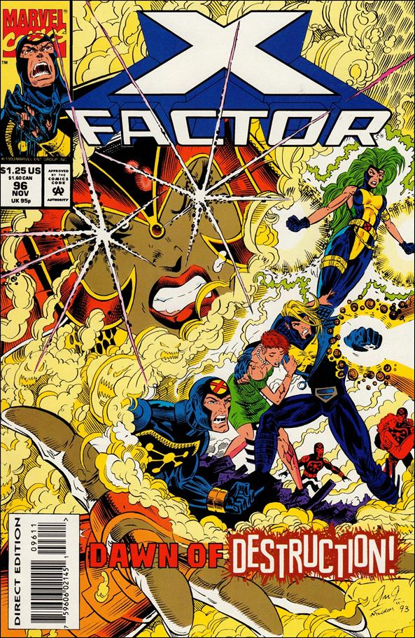 X-Factor (1986) 96-A by Marvel