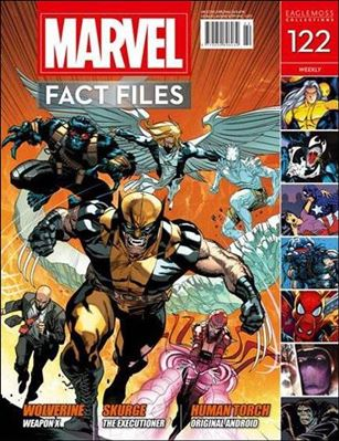 Marvel Fact Files 122-A