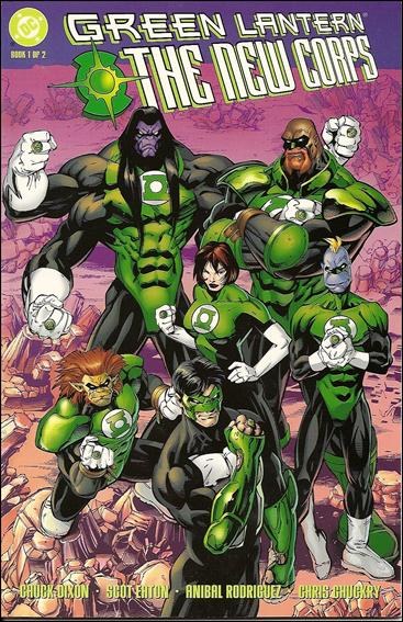 Green Lantern: The New Corps 1-A by DC