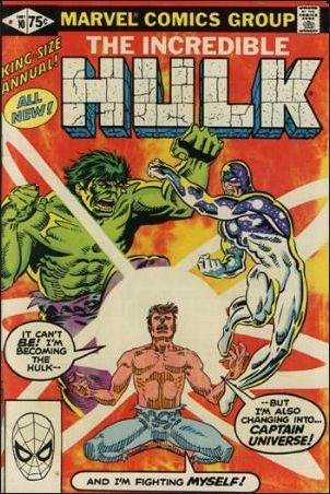 Incredible Hulk Annual  10-A by Marvel