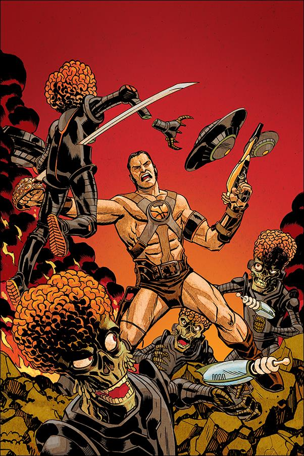 Warlord of Mars Attacks 1-G by Dynamite Entertainment
