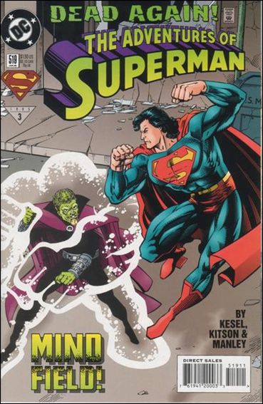 Adventures of Superman (1987) 519-A by DC