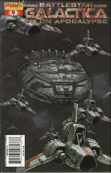 Battlestar Galactica: Cylon Apocalypse 4-E by Dynamite Entertainment
