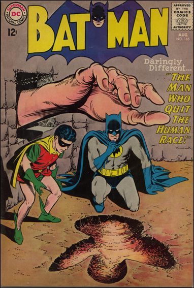 Batman (1940) 165-A by DC
