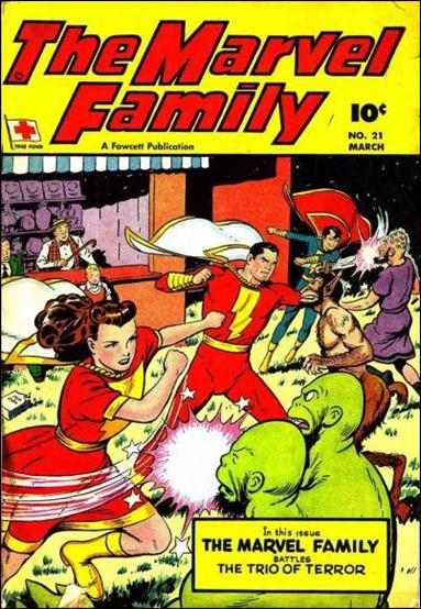 Marvel Family 21-A by Fawcett