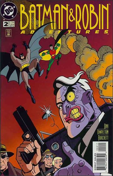 Batman and Robin Adventures 2-A by DC