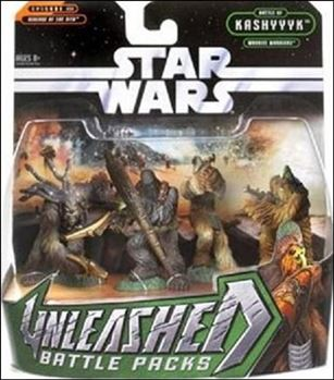 Star Wars: Unleashed Multi-Figure Battle Packs Battle of Kashyyyk - Wookiee Warriors
