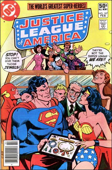 Justice League of America (1960) 187-A by DC
