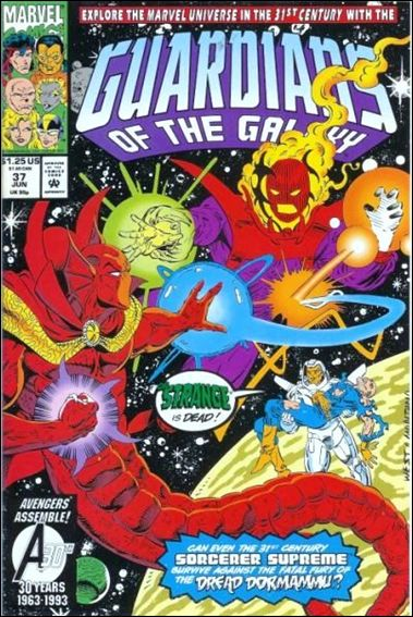 Guardians of the Galaxy (1990) 37-A by Marvel
