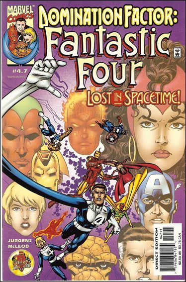 Domination Factor: Fantastic Four 4.7-A by Marvel