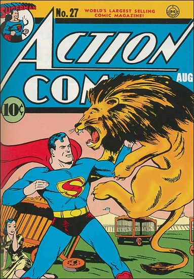 Action Comics (1938) 27-A by DC