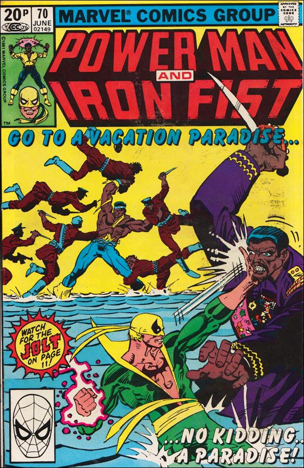 Power Man and Iron Fist (1978) 70-B by Marvel