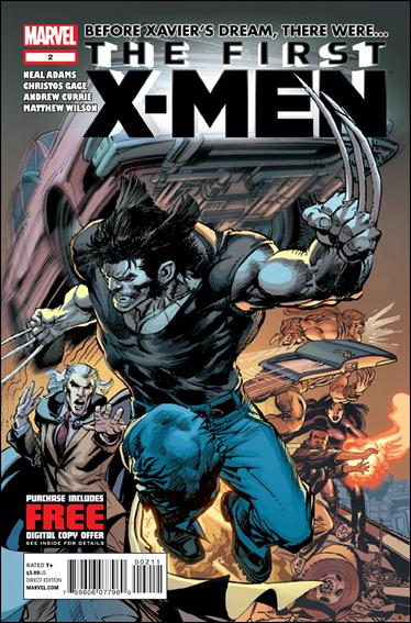 First X-Men 2-A by Marvel