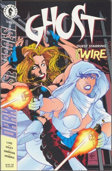 Ghost (1995) 4-A by Dark Horse