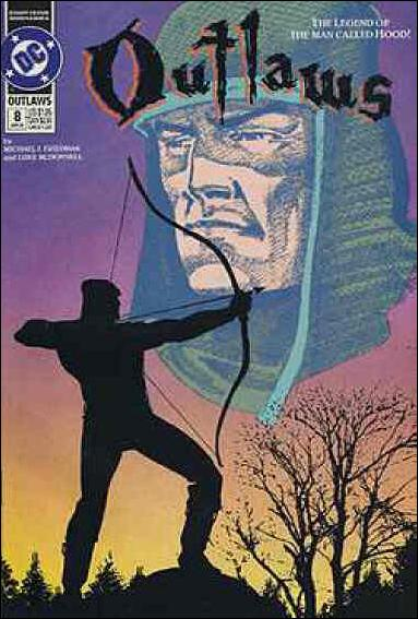 Outlaws (1991) 8-A by DC