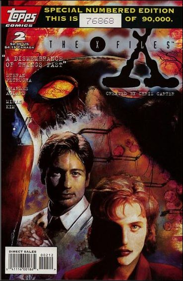 X-Files (1995) 2-B by Topps