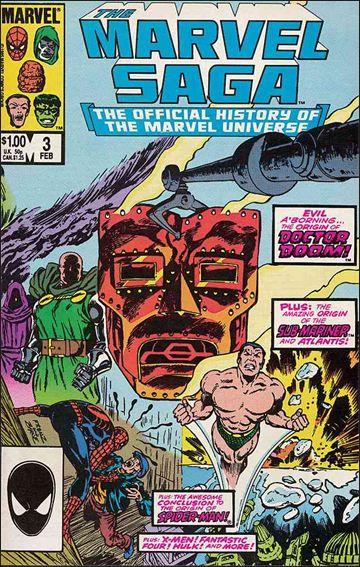 Marvel Saga 3-A by Marvel
