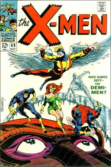 X-Men (1963) 49-A by Marvel